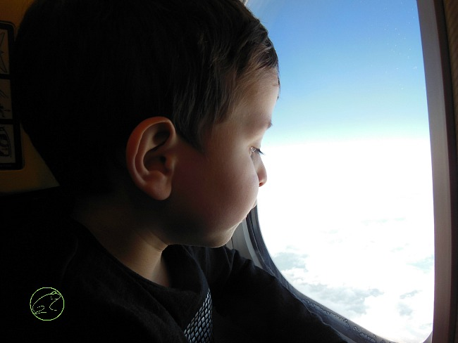 Top tips when flying with a young family
